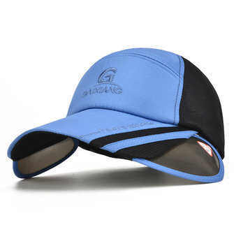 Sun Protection Snapback Baseball Cap Big Brim Sun Hat