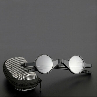 Womens Men Folding Presbyopic Glasses Stress Reduce Sunglasses Reading Glasses With Glasses Case