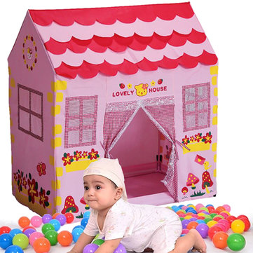 Girls Children Princess Pink Play House Outdoor Garden Tent Kids Toy