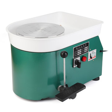 110V 250W Electric Pottery Wheel Clay Art Pottery Making Equipment Ceramic Machine