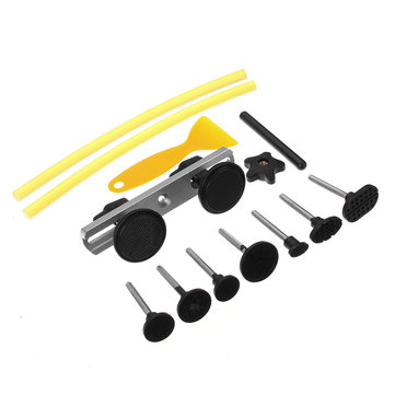 Paintless Dent Repair Hand Tools PDR Puller Hail Removal & Glue Pulling Tabs