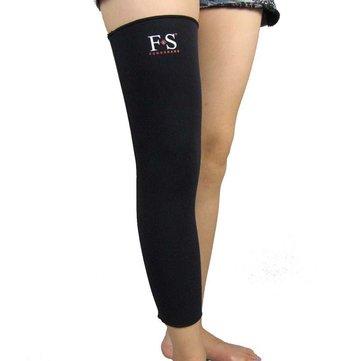 1 pcs joelho apoio cinta warp joelheira legging protector para desportos de fitness lesão entorse