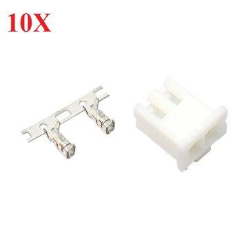 10X поделки микро 1.25мм 2-контактный разъем разъем с обжимным