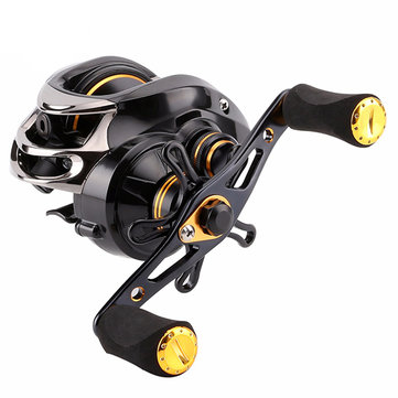SeaKnight LYCAN 1200HG 7.0:1 Baitcasting Fishing Reel 11+1BB 5KG Carbon Fiber Drag System 205g Wheel