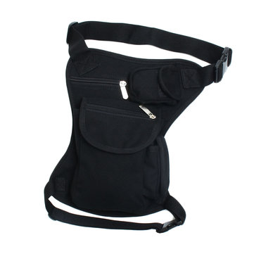 Mens Motorcycle Racing Hip Fanny Pack Waist Belt Thigh Drop Leg Bag Pouch For Canvas