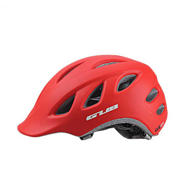 GUB City Ultralight Bicycle Helmet Integrally-molded 18 Air Vents Men and Women 56-60CM