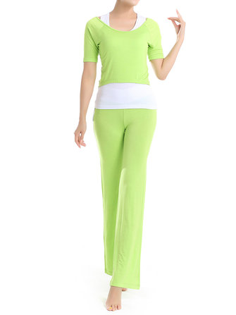 Women Sport 3 Piece Set Yoga Gym Tracksuit