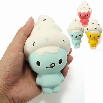 Squishy Ice Cream Doll 13cm Zacht Slow Rising Kawaii Cute Collection Gift Decor Toy