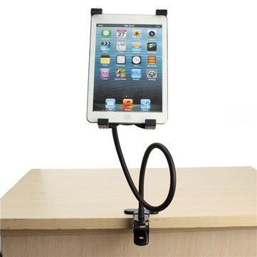 Gooseneck 360° Rotating Lazy Bed Desk Stand Phone Holder Bracket Mount For iPad 2/3/4 Air 5''-9.5'' Tablet PC