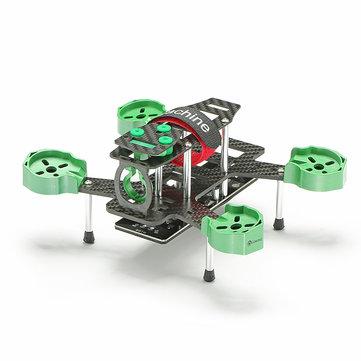 Eachine Falcon 180 Carbon Fiber DIY Frame Kit with PCB FPV Racer
