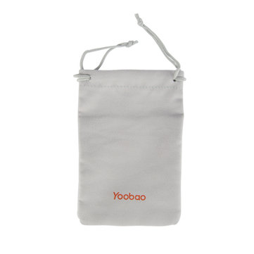 Yoobao Carrying Bag Flannel Pouch Case Storage Bag for Smartphone Accessories Power Bank