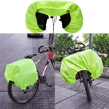 BIKIGHT Waterproof Rain Cover Coat For Cycling Bike Bicycle Motorcycle Rear Seat Carrier Bag Rack Pa