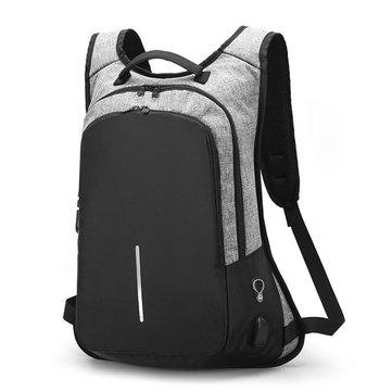 15.6 Inches Laptop Men Custom Lock Business Backpack