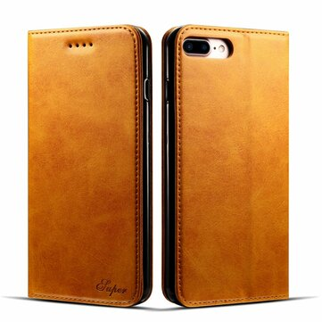 Bakeey Magnetic Flip Wallet Card Slot Case For iPhone 8 Plus/7 Plus