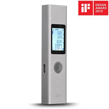 Télémètre laser numérique rechargeable intelligent ATuMan LS-1 Télémètre métrique Mesure