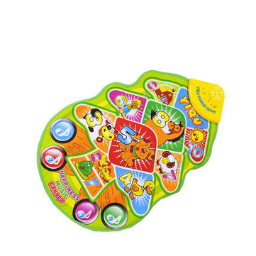 YIQU Kid Touch Play Musical Mat Tree Musical Carpet Toy piano music carpet mat