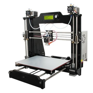 Geeetech® Prusa I3 M201 2-IN-1-OUT FDM 3D Printer DIY Kit 1.75mm ABS PLA 0.4mm Nozzle