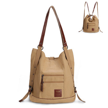 Brenice Women Multi-carry Casual Canvas Handbag