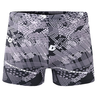 Beach Surf Hot Springs Inside Pocket Impression de mode Boxers Swim Trunks for Men