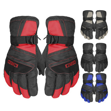 Men Women Winter Sport Elastic Band Gloves Ski Snowboard Snow Thermal Waterproof Motorcycle