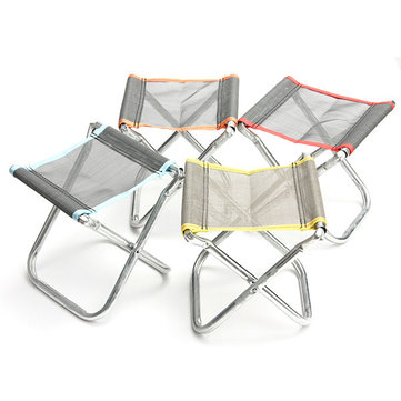 Portable Folding Chair Stool Home Furniture Outdoor Fishing Camping Padded Seat