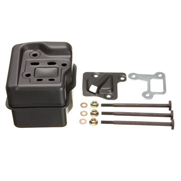 Muffler 12-piece Suit With Bolts Gasket For Chain Saw Stihl MS290 MS390 310 029 039