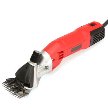 500W 220V Adjustable Electric Wool Shears Farm Animal Hair Shearing Tool