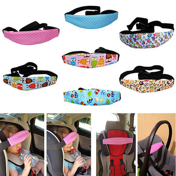Vvcare BC-S1 Baby Car Safety Seat Belt Kid Adjustable Stroller Head Support Sleeping Fixing Accessor