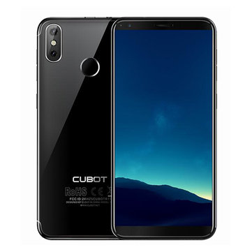 Cubot R11 5,5 дюймов 18: 9 Android 8.1 2GB RAM 16GB ПЗУ MT6580 Quad-Core 1.3GHz 4G Смартфон