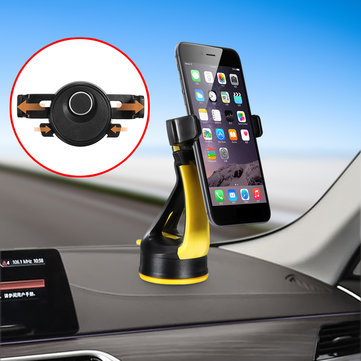 Universal 360 Degree Rotation Vehicle Car Phone Holder Mount Stand Cradle for iPhone Samsung Xiaomi