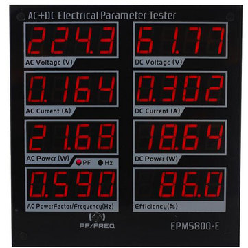 EPM5800-E AC/DC Power Meter Watt Meter Electrical Paremeters Tester Power Supply Driver Tester
