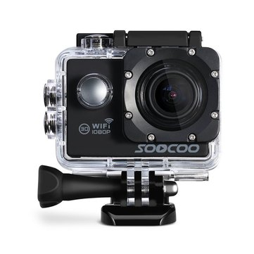 SOOCOO C10S Waterproof Sports Action Camera with Wifi Full Hd 1080p 12MP 2.0 LCD 170 Degree Wide Len