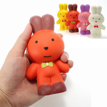 Squishy Rabbit Bunny 13cm Soft Slow Rising Animals Cartoon Collection Gift Decor Toy