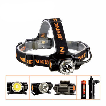 NICRON H30 900LM XM-L2 U2 LED USB Rechargeable Headlight 6 Switch Modes Adjustable HeadLamp
