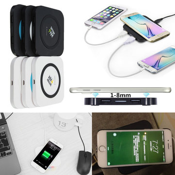 Winksoar QI Wireless Charger Charging Pad Transmitter For iPhone Samsung Note 5 Nokia