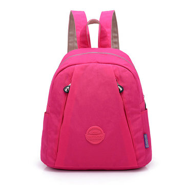 Women Nylon Waterproof Lightweight Travel Backpack Handbag