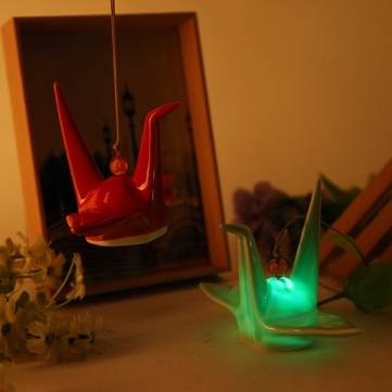 Creative Ceramic Energy-saving Campanula LED Night Light for Bedroom Decoration
