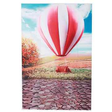 3x5ft Vinyl Hot Balloon Blue Sky Photography Background Backdrop Photo Studio Prop