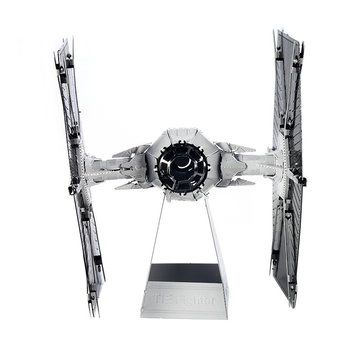 Aipin DIY 3D Metal Tie Fighter Puzzle Stainless Steel Model Building Kit Collection Gift