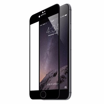 Ultra Thin 0.2mm 9H 3D Carbon Fiber Soft Edge Tempered Glass Screen Protector for iPhone 7 4.7 Inch