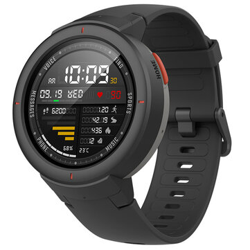 Original Xiaomi Amazfit Verge Chinese Version AMOLED IP68 11 Sport Mode GPS+GLONASS 5Days Standby Smart Watch