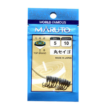 ZANLURE 50pcs Maruseigo #5 Jig Head Hooks Fishing Lead Head Hooks Fishing Hook Tackle
