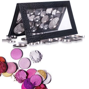 DIY Empty Magnetic Makeup Palette Case Eyeshadow Lip Gross Powder Panel Organizer