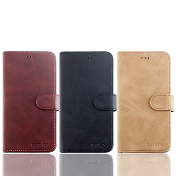 Bakeey Flip Card Slot With Stand PU Leather Case Protective Case For UMIDIGI One / UMIDIGI One Pro