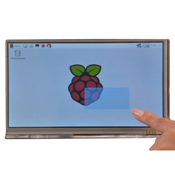 Raspberry Pi 7 inch HD 1024 * 600 Touch Screen Module Kit With Housing Bracket
