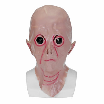Halloween UFO Alien Mask Cosplay Fancy Dress Scary Horror Full Face Head Costume