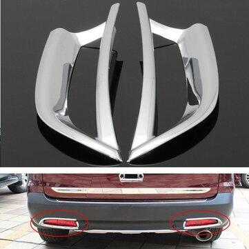 2pcs хром задний задний фонарь отделка декоративную крышку для Honda CRV CR-V 2012-2014