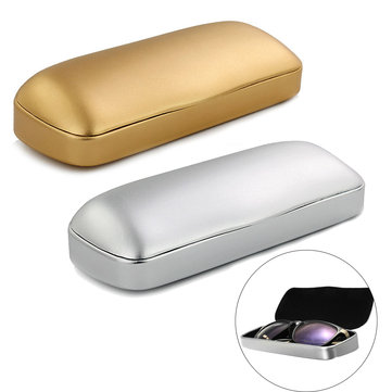 Matte Hard Metal Glasses Case Holder Protable Eyeglasses Box Glasses Protection