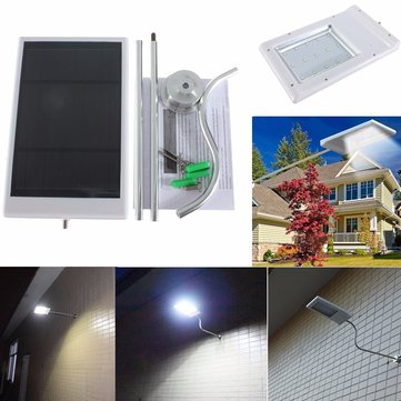 15 LED 2835 SMD Solar Sensor Wall Street Light Waterproof Outdoor Garden Lamp