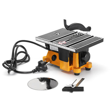 Raitool Mini Table Saw PCB Acrylic Cutting Machine DIY Model Metal Sawing Wood Working Saws